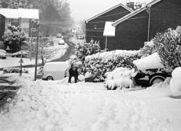 Shovelling Snow !