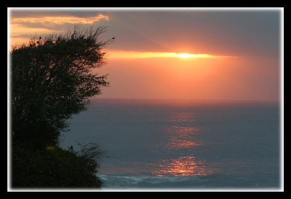 Bali Sunset by mikearicha