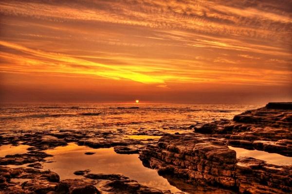 Seaside Sunrise by mpphotographics