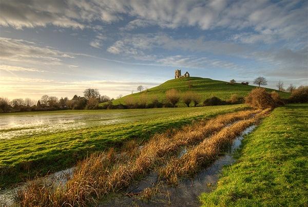 Burrow Mump, Somerset by sarkysid