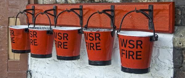 Fire Buckets by GordonLack