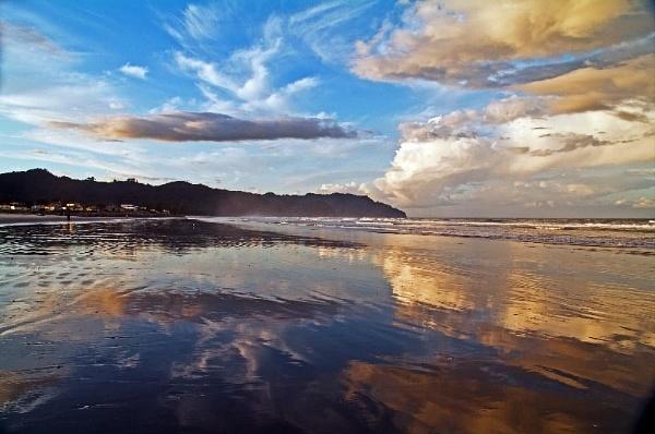 Sunset,Waihi Beach, Coromandel, NZ by Dukie
