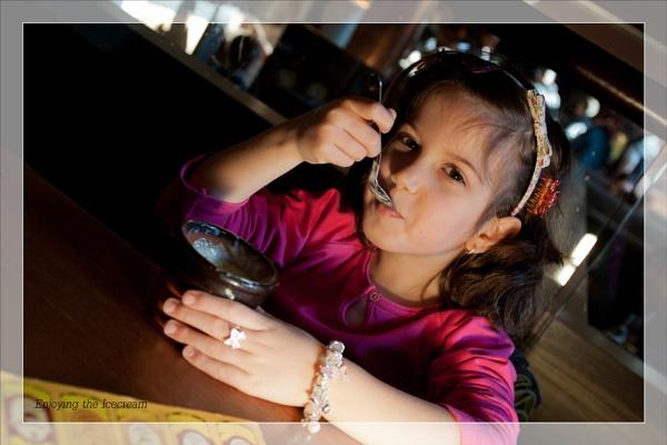 Enjoying the Icecream by touchingportraits