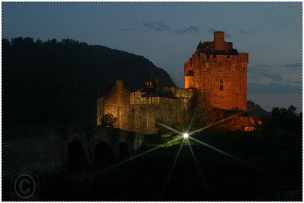 Eilean Donan castle retouched by jazzygf
