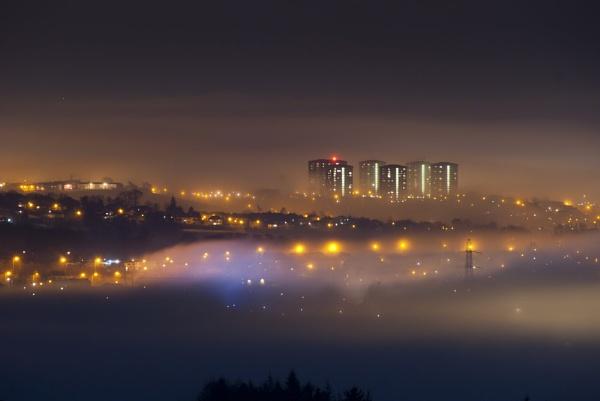 Highrise fog - Clydebank by ramrod35