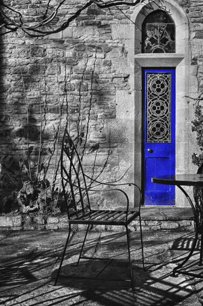 Blue Door by tony_hoops
