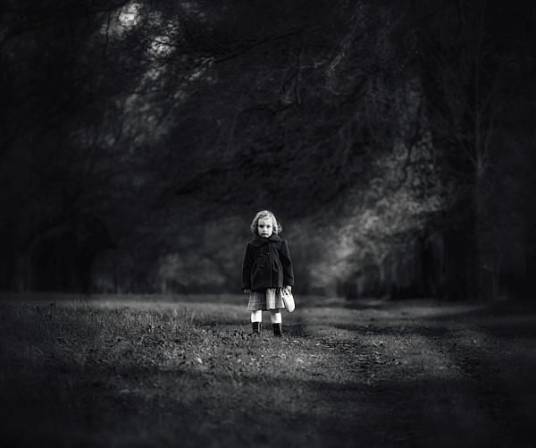 Dark Autumn Angel by Martin1979