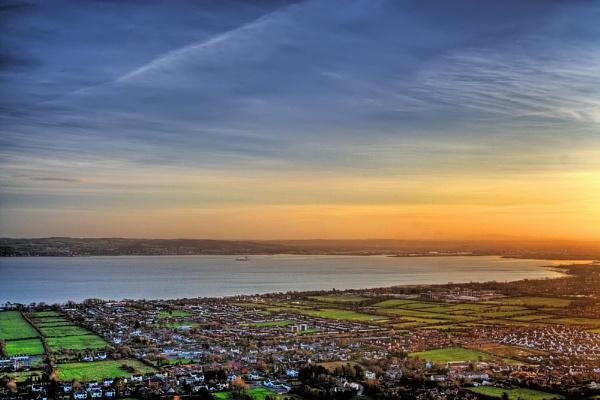 Belfast Lough by marklewis81