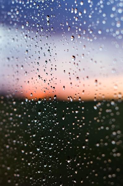 Rain on Window by StuartAt