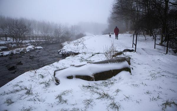 Snow walk by chrispo