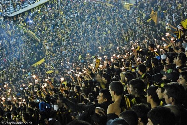 Peñarol fans by Gothic