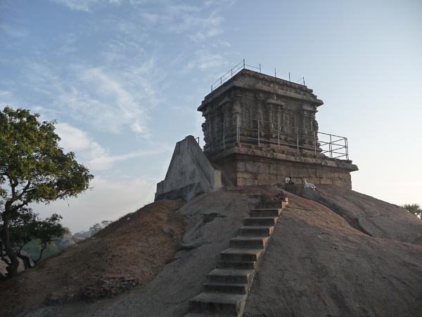 Rock temple by bglimaye