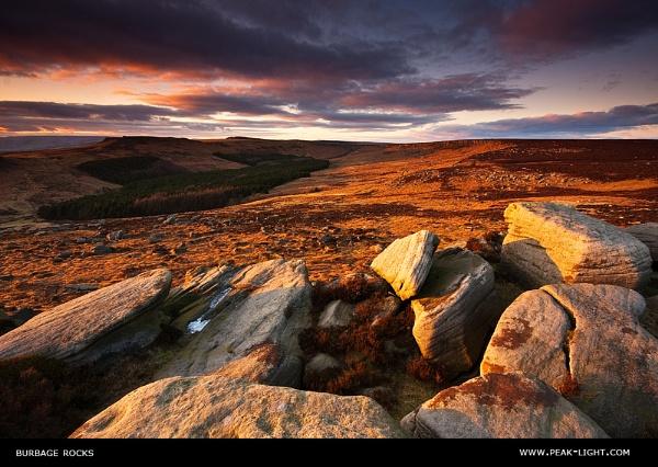 Burbage Rocks by martinl
