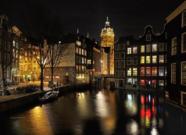 Romantic Amsterdam by martinalberts