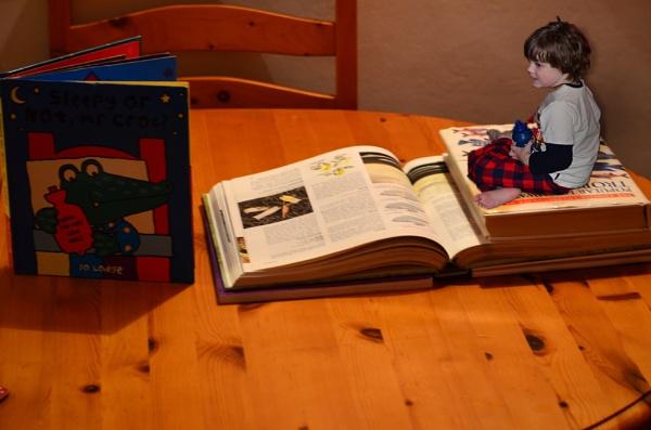 Jack & His Book by greenie