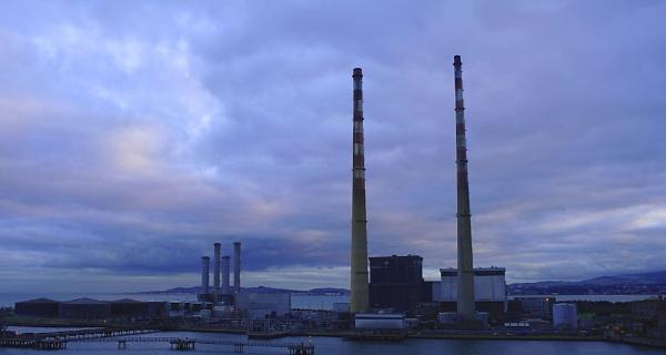 Dublin Port by Gregoir