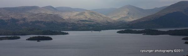Conic Hill View by desbarnio