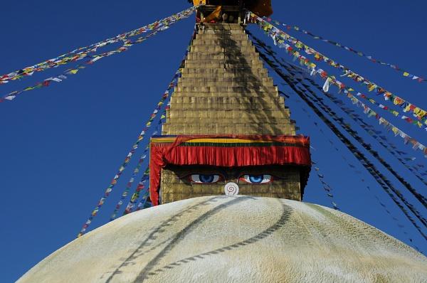 Swayambunath, Kathmandu, Nepal by TRAVELLINGFOOTPRINT