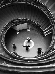 Vatican stair way 2