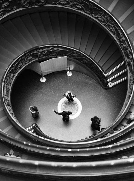 Vatican stair way 2 by danfrier
