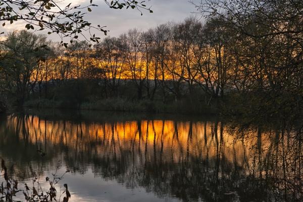 Glastonbury Heath Sunset by livinglevels