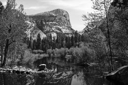 Mirror Lake, Mount Watkins, Yosemite National Park