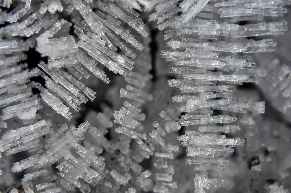 Ice crystals by yogirajpardhi