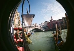 Venice with a fishy eye !!