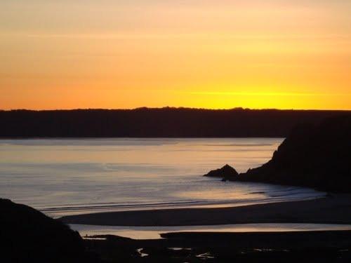 Three Cliffs Bay, Gower, Wales, UK by dave_morgan