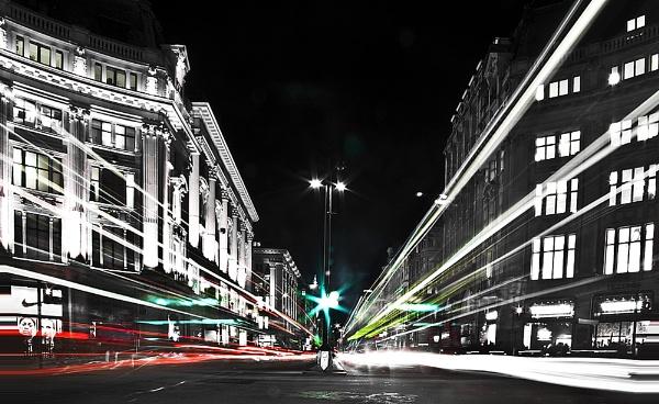 Oxford Circus Trail Lights by guitarman74uk