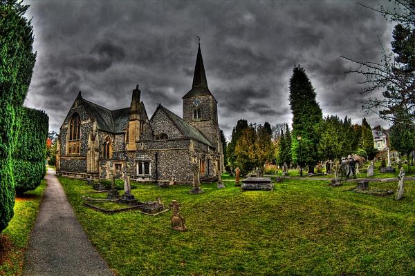 st nicolas church chislehurst by halo666