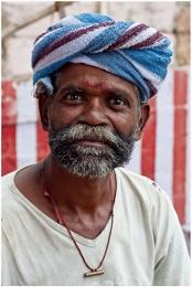 Old man, Maduri, India