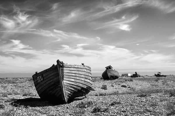 On Dungeness Beach by andy-coleman