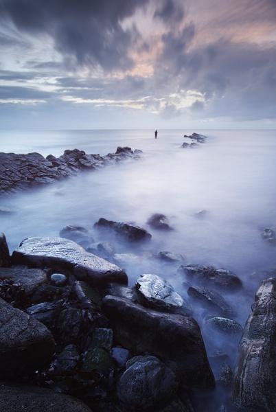 The Lone Fisherman II by den2il