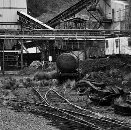 Meldon Quarry Yard