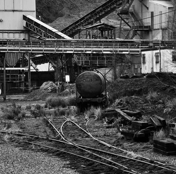 Meldon Quarry Yard by DrewAnderson