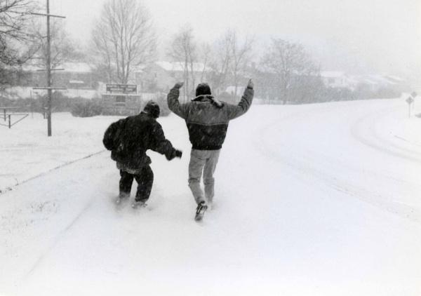 Snow Skating by jmolligo