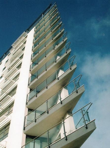 Apartment Block by dave_morgan