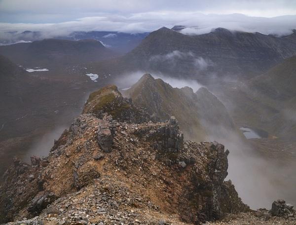 Pinnacle Ridge by JohnParminter
