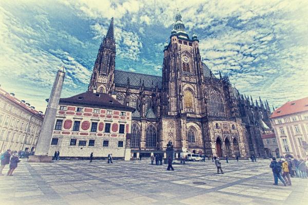 Prague Cathedral HDR by YoBellzaa