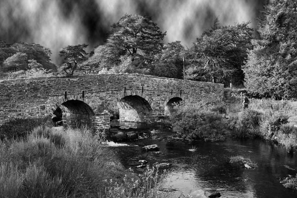 bridge in dartmoor by halo666