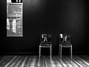 Two Chairs and a Wall by AnneWorner