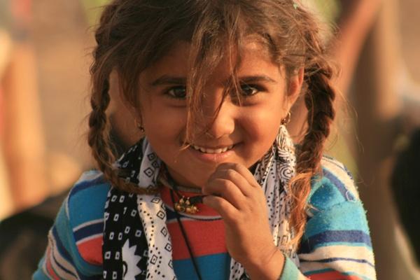 a Nomad girl in fair Beneshwar Banswara Rajasthan by dsrathore999