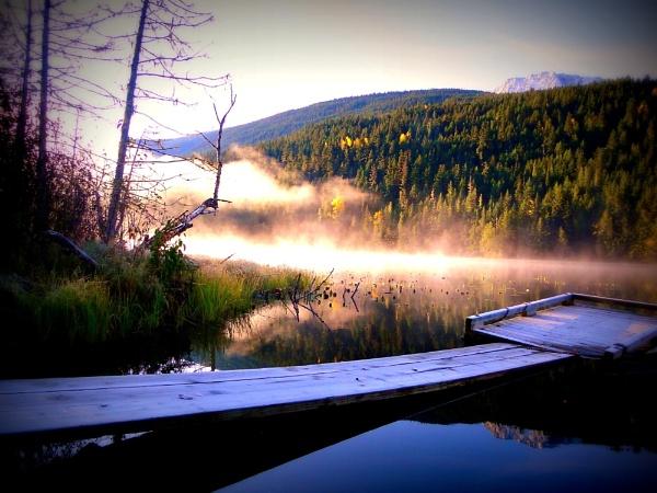 Early morning at Blackwater Lake by johnbrowning3