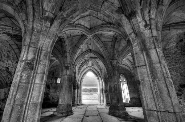 Valle Crucis Abbey by JamesFarley