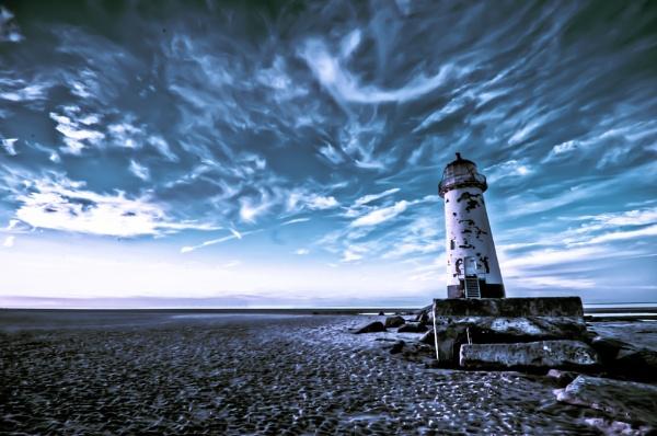 Point of Ayr lighthouse by JamesFarley