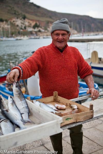 Sicilian fisherman by garnham123