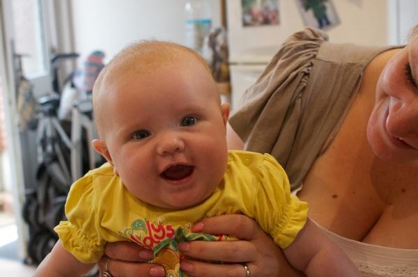 Sophie Smiles for her Mam by cbegg