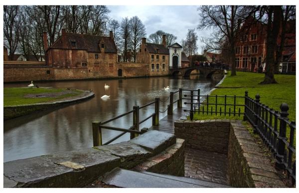 Brugge Canal Walk. by Buffalo_Tom