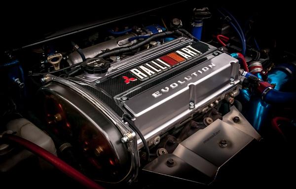 Ralli Art Evo Engine by davidburleson